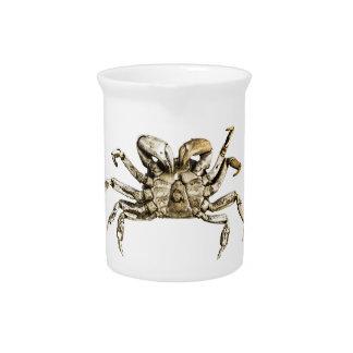 Dark Crab Photo Pitcher