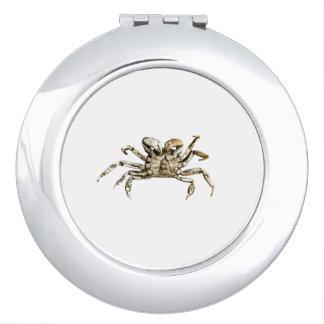 Dark Crab Photo Vanity Mirror