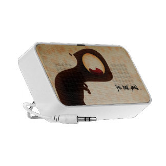 Dark creature of Halloween speacker iPod Speakers