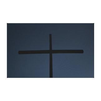 Dark Cross Canvas Print