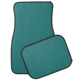 DARK CYAN  (solid color) ~ Car Mat