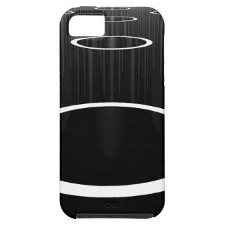 Dark Cylinders iPhone 5 Case