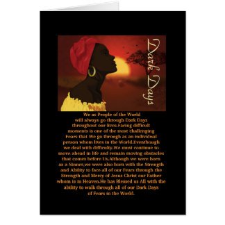 Dark Days Card