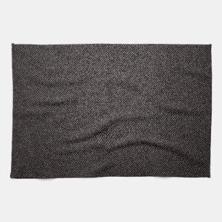 Dark denim texture towel