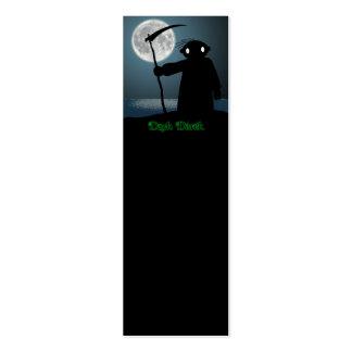 Dark Derek - Scythe Pack Of Skinny Business Cards