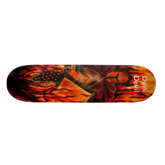 Dark Devil Skate Board Deck