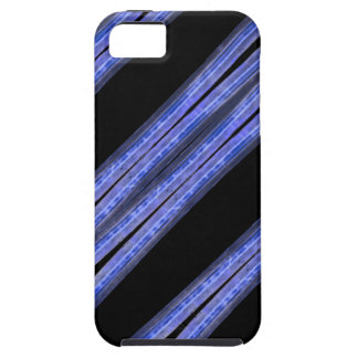 Dark Diagonal Stripes Pattern iPhone 5 Cases