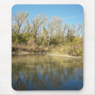 Dark Distant Reflections Mouse Pad