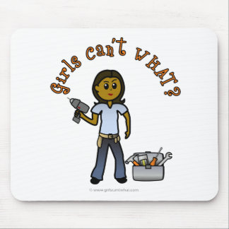 Dark Do-It-Yourself Diva Mouse Pad