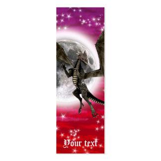 Dark Dragon Pack Of Skinny Business Cards