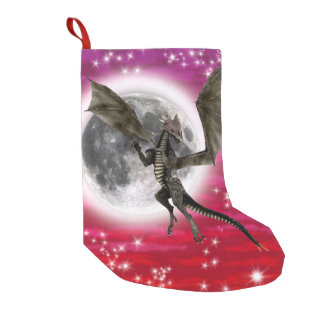 Dark Dragon Small Christmas Stocking