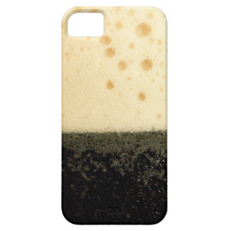 Dark drink with foam case iPhone 5 cover
