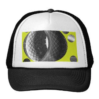 dark earth graphic art hats