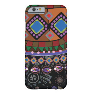 Dark Eastern Ornament Barely There iPhone 6 Case