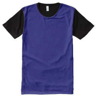 DARK EGYPTIAN BLUE (solid color background) ~.jpg All-Over Print T-Shirt