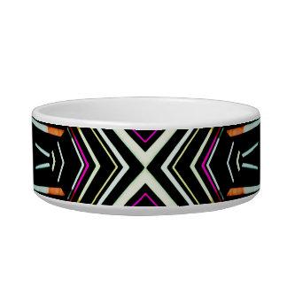 Dark Ethnic Sharp Bold Pattern Bowl