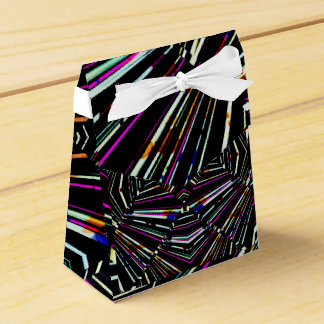 Dark Ethnic Sharp Bold Pattern Favour Box