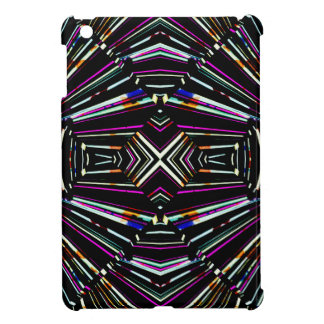 Dark Ethnic Sharp Bold Pattern iPad Mini Case