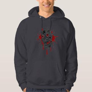Dark Evil Bloody Skull Hoodie