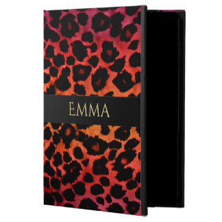 Dark Exotic Leopard Animal Print iPad Case
