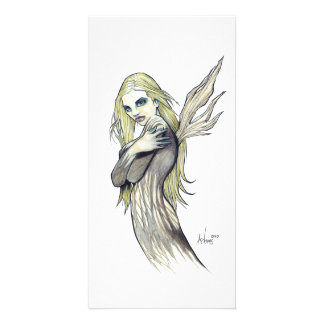 Dark Fairy Custom Photo Card