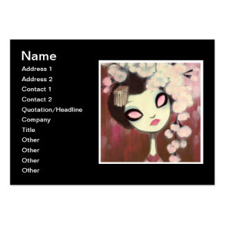 Dark Fairy Tale Character 13 Business Cards
