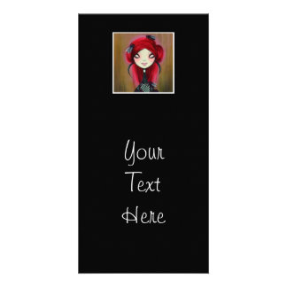 Dark Fairy Tale Character 14 Personalized Photo Card