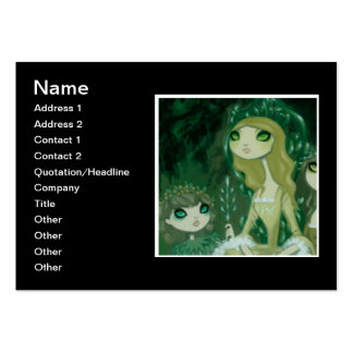 Dark Fairy Tale Character 15 Business Card Template