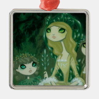 Dark Fairy Tale Character 15 Christmas Tree Ornament