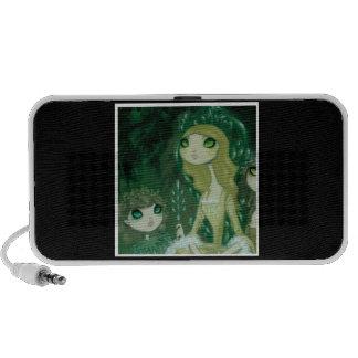 Dark Fairy Tale Character 15 Travel Speaker