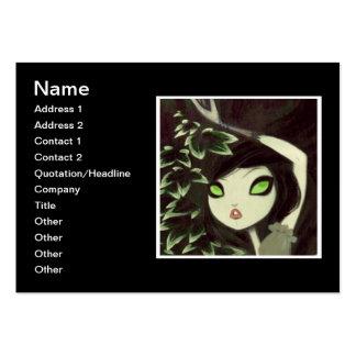 Dark Fairy Tale Character 16 Business Card Templates
