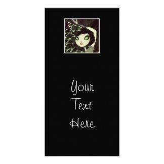 Dark Fairy Tale Character 16 Customized Photo Card
