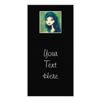 Dark Fairy Tale Character 17 Photo Card Template