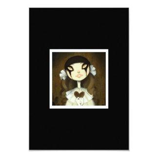 "Dark Fairy Tale Character 1 3.5"" X 5"" Invitation Card"