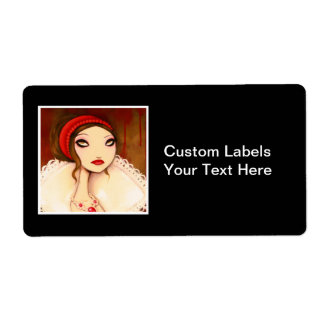 DARK FAIRY TALE CHARACTER 22 SHIPPING LABEL