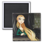 Dark Fairy Tale Character 2 - Rapunzel Refrigerator Magnet