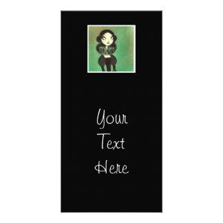 Dark Fairy Tale Character 3 Photo Card Template