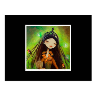 Dark Fairy Tale Character 4 Postcard