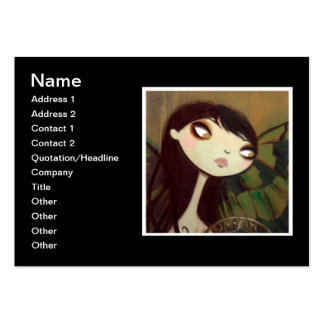 Dark Fairy Tale Character 5 Business Card Template