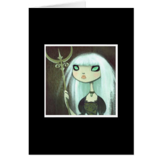 Dark Fairy Tale Character 6 Greeting Cards