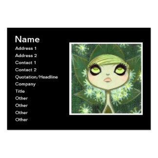 Dark Fairy Tale Character 7 Business Card Templates