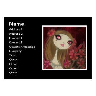 Dark Fairy Tale Character 8 Business Card
