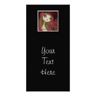 Dark Fairy Tale Character 8 Customized Photo Card