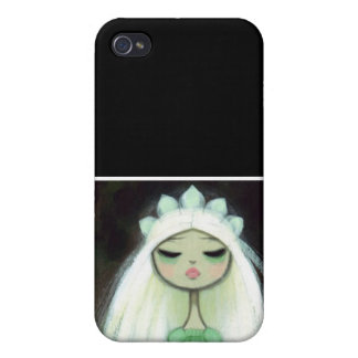 Dark Fairy Tale Character 9 - Sad Princess iPhone 4 Cover