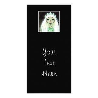 Dark Fairy Tale Character 9 - Sad Princess Photo Card Template