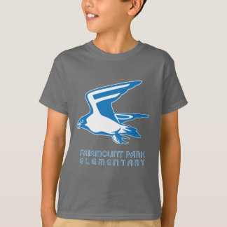 Dark Falcon Tee with Light Falcon Graphic