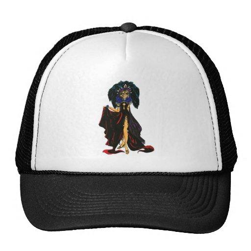 Dark Feather Hat