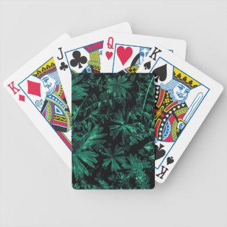 Dark Flora Photo Bicycle Playing Cards