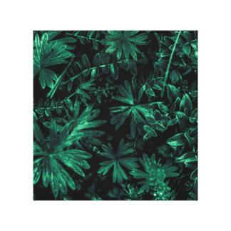 Dark Flora Photo Canvas Print