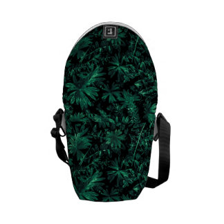 Dark Flora Photo Commuter Bags